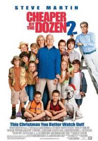 Cheaper by the Dozen 2 (2005) Cu duzina e mai ieftin 2 - Războiul taţilor