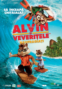 Alvin şi veveriţele: Naufragiaţi