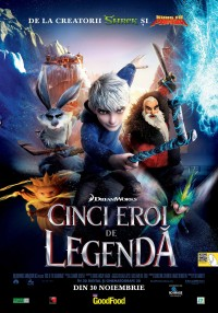 Rise of the Guardians (2012) Cinci eroi de legendă